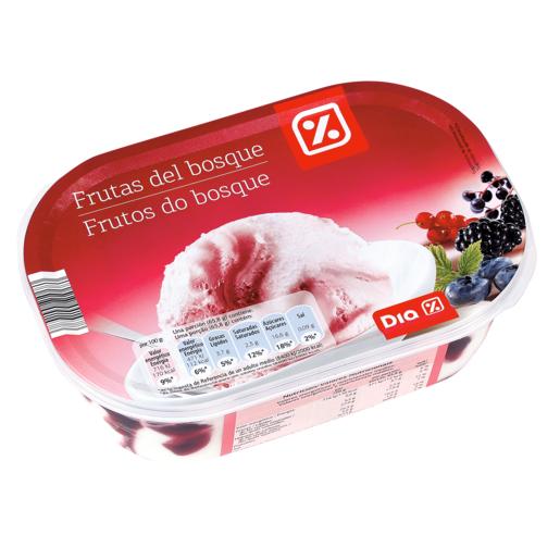 DIA helado frutas del bosque barqueta 593 gr
