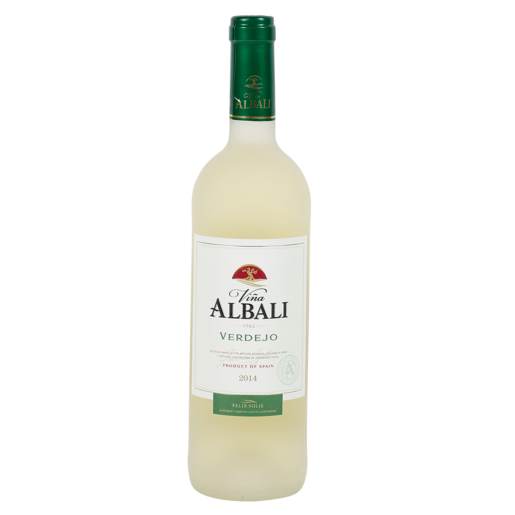 VIÑA ALBALI vino blanco verdejo botella 75 cl
