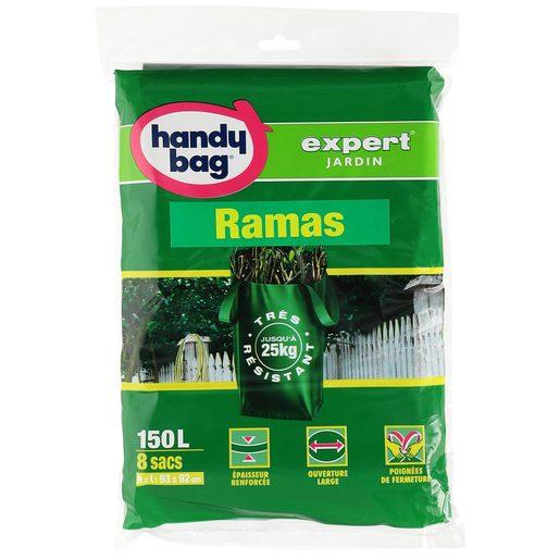 HANDY BAG Expert bolsa para ramas y restos del jardín 150 lt