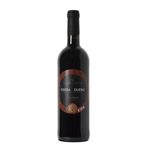 SEÑORIA DE ONDAS vino tinto DO ribera del duero botella 75 cl