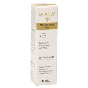 ASPOLVIT crema facial de día triple acción bote 30 ml