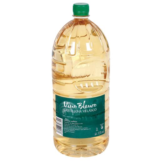 CASTILLO DE VELASCO vino blanco garrafa 2 lt