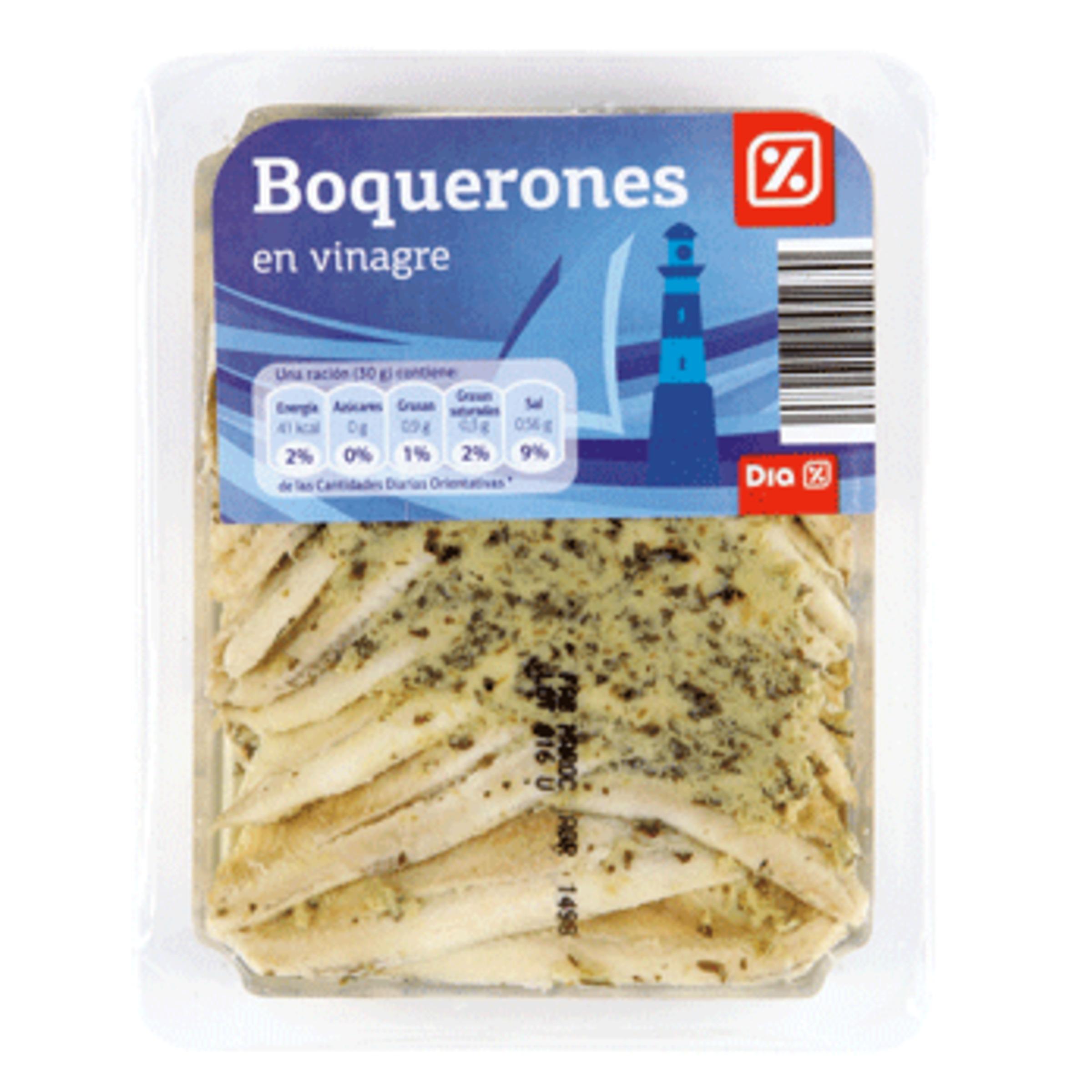 Dia boquerones en vinagre envase 150g resto pescado - Boquerones en vinagre duros ...
