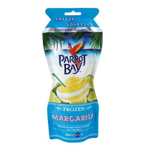 PARROT BAY cocktail margarita listo servir granizado envase 25 cl