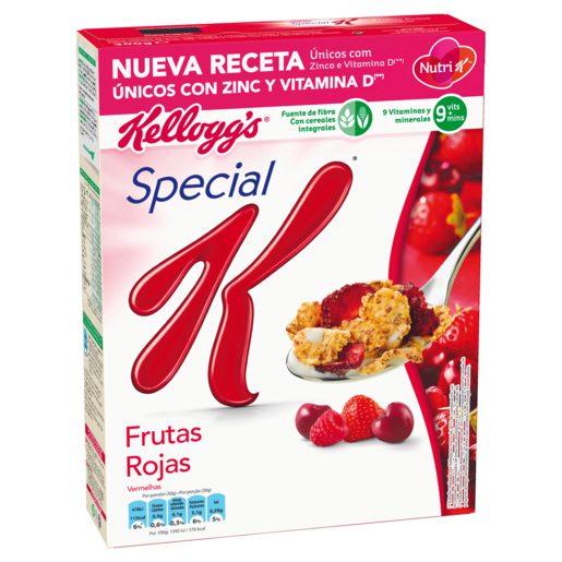 KELLOGS cereales special k con frutas rojas caja 300 gr