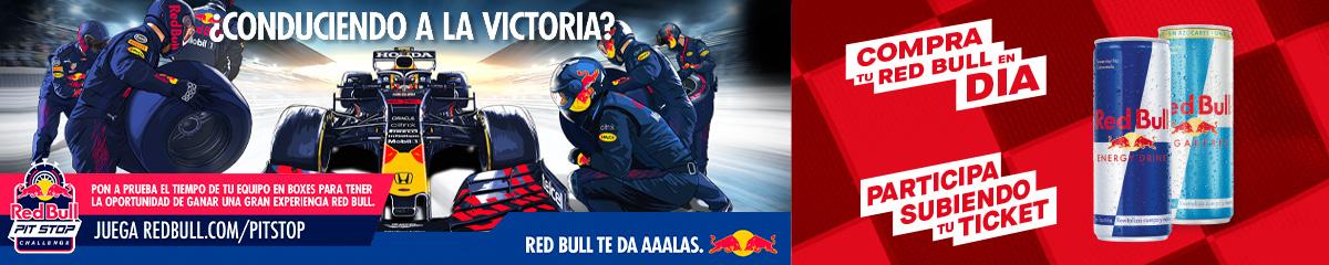 Juega al Pit Stop Challenge de Red Bull con Dia