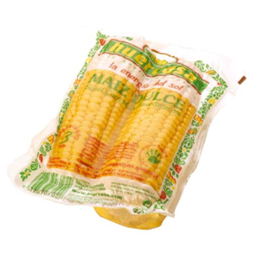 Maíz cocido mazorcas bolsa 400 gr