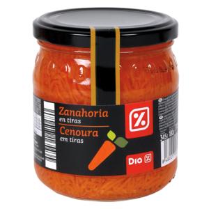 DIA ensalada zanahoria frasco 180 gr