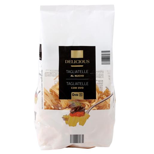 DIA DELICIOUS pasta tagliatelle al huevo paquete 500 gr