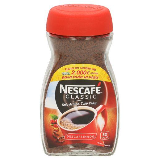 NESCAFE café soluble descafeinado frasco 100 gr