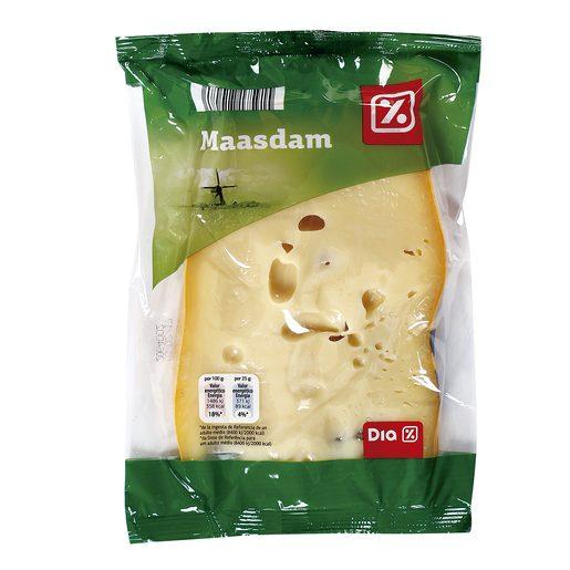 DIA queso maasdam cuña 350 gr