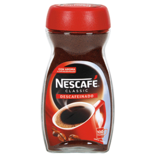 NESCAFE café soluble descafeinado frasco 200 gr