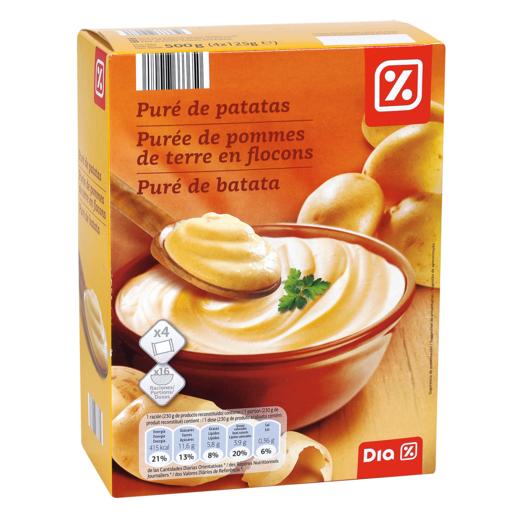 DIA puré de patatas caja 500 gr