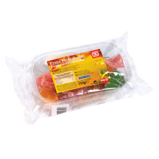 DIA surtido de fruta escarchada estuche 250 gr