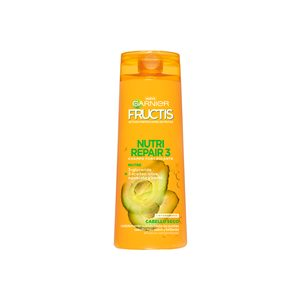 FRUCTIS champú nutri repair 3 cabello seco tarro 360 ml