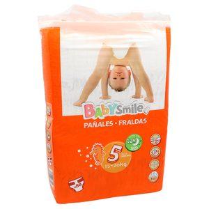 BABYSMILE pañales 13-20 kgs talla 5 paquete 88 uds