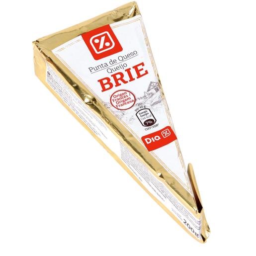 DIA punta de queso brie pieza 200 gr