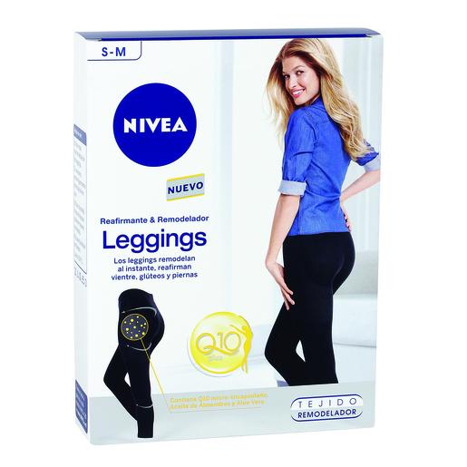 NIVEA leggings reafirmante & remodelador con Q10 plus talla S-M caja 1 ud