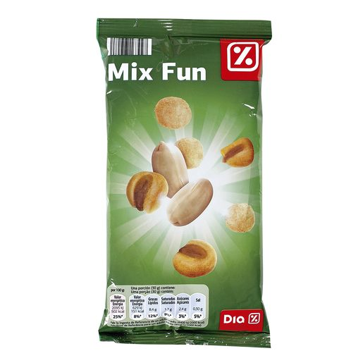 DIA cocktail frutos secos mix fun bolsa 200 gr