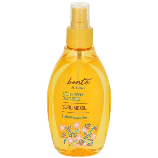 BONTE aceite seco para piel y cabello botella 150 ml