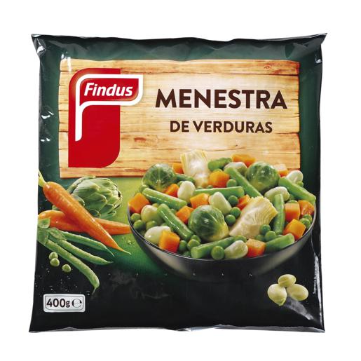 FINDUS menestra de verduras bolsa 400 gr