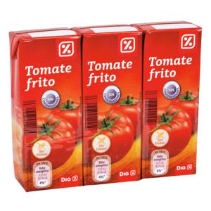 DIA tomate frito pack 3 unidades 215 gr
