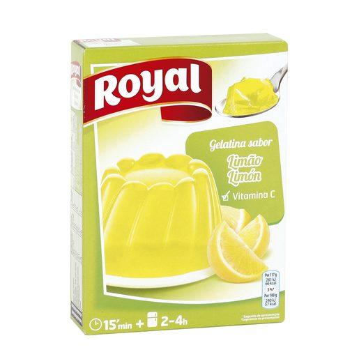 ROYAL gelatina limón caja 170 gr