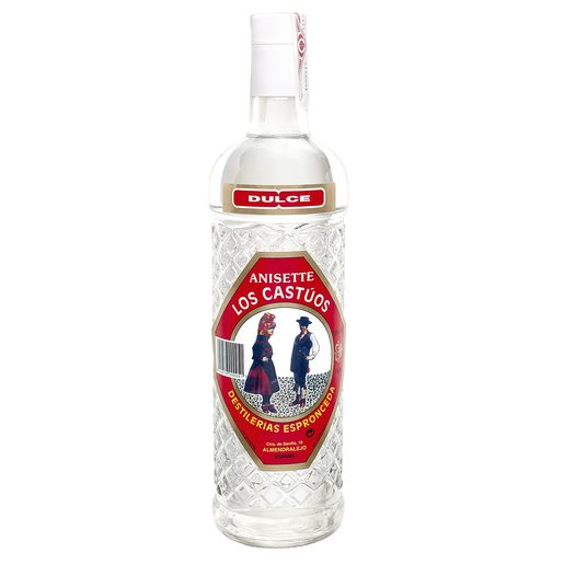 LOS CASTÚOS anís botella 1 lt