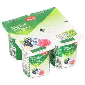 DIA bífidus con frutos del bosque pack 4 unidades 125 gr