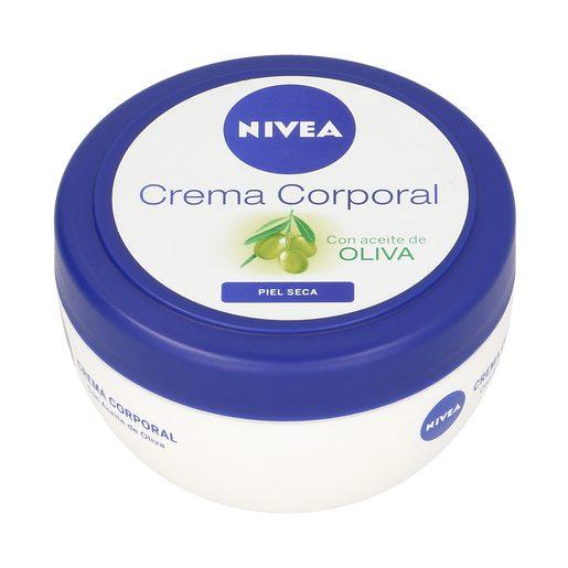 NIVEA crema corporal con aceite de oliva tarro 200 ml