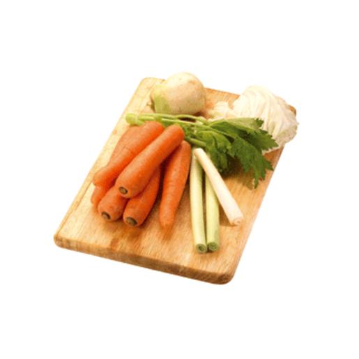 Surtido vegetal bandeja 1 Kg