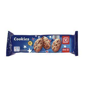 DIA galletas cookies con pepitas de chocolate 40% estuche 225 gr
