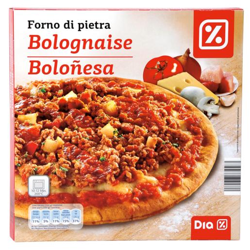 DIA pizza boloñesa caja 400 gr