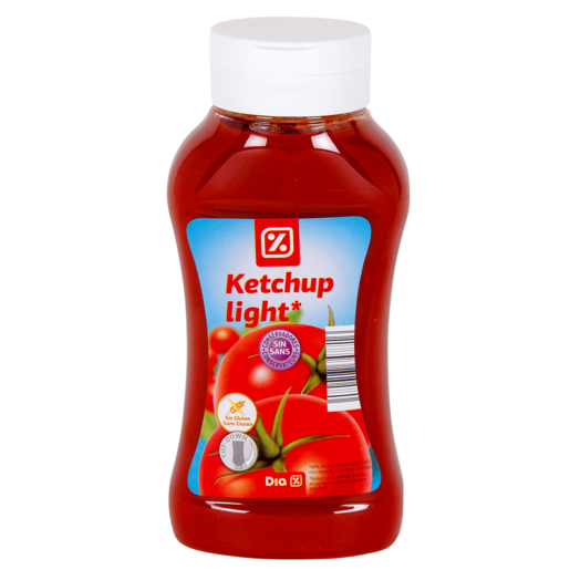 DIA ketchup light bote 540 gr