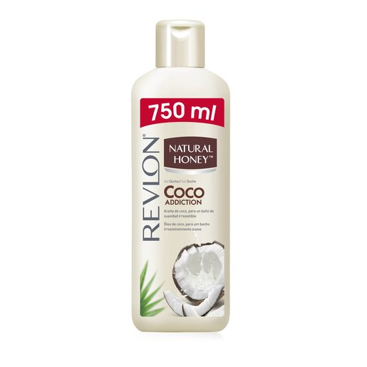 NATURAL HONEY gel de baño coco botella 750 ml