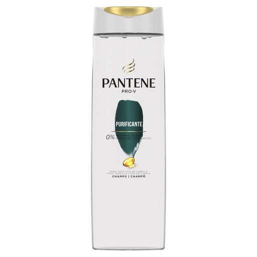 PANTENE Pro-v champú purificante sin apelmazamiento bote 360 ml