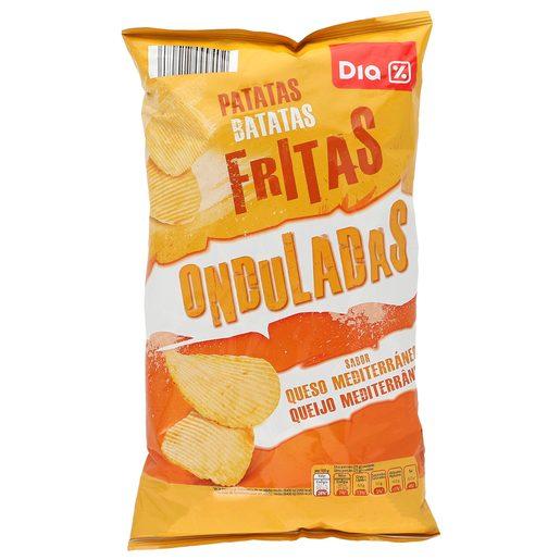 DIA patatas fritas queso mediterráneo bolsa 150 gr