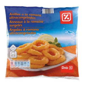 DIA anillas de calamar a la romana bolsa 400 gr