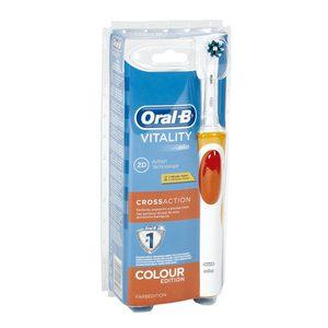 ORAL B cepillo dental eléctrico vitality cross action 2D blister 1 ud