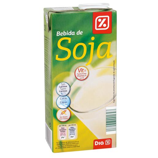 DIA VITAL bebida de soja envase 1lt