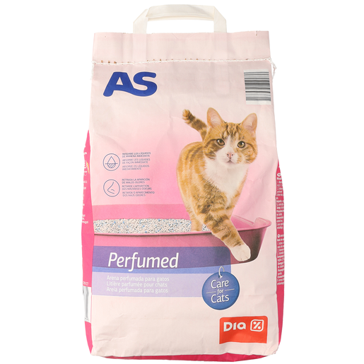 AS arena perfumada para gatos bolsa 5 kg