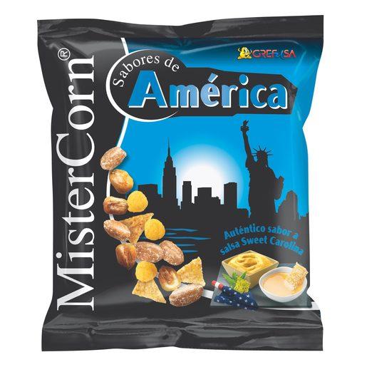 GREFUSA Mister corn sabores de américa cocktail frutos secos bolsa 155 gr