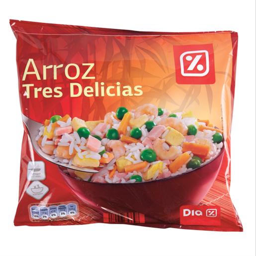 DIA arroz 3 delicias bolsa 700 gr
