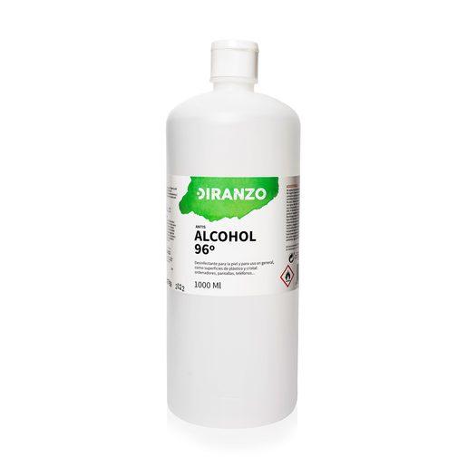 DIRANZO alcohol sanitario vol 96 º bote 1 litro