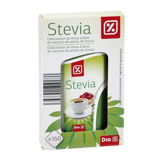 DIA edulcorante stevia 150 comprimidos