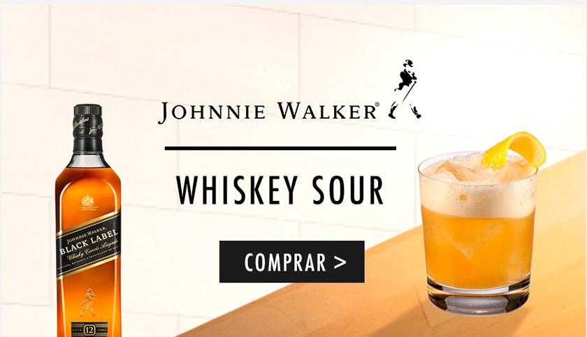 Compra online en DIA Johnnie Walker y prepara un Whiskey Sour con esta receta