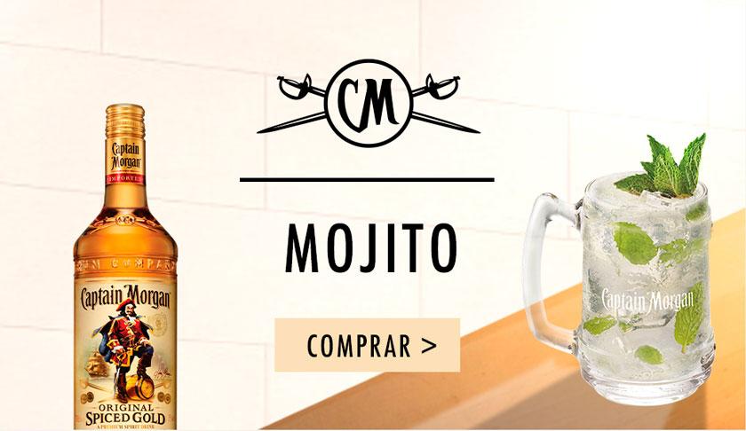 Compra online en DIA Captaon Morgan y prepara un Mojito con esta receta