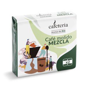 DIA CAFETERÍA café molido mezcla natural paquete 2 x 250 gr