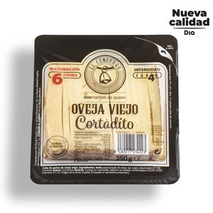 DIA EL CENCERRO queso de oveja viejo 6 meses ya cortado cuña 250 gr