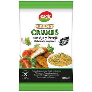ESGIR Crunchy crumbs rebozado crujiente con ajo y perejil SIN GLUTEN bolsa 100 gr